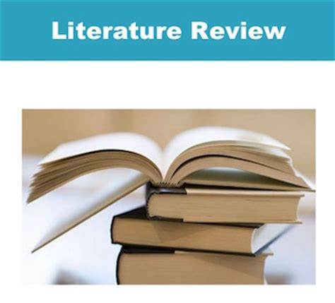 Literature review in business management research center